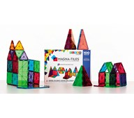 Magna-Tiles transparent byggesæt 100 dele