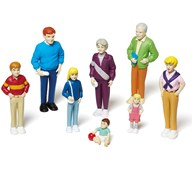 Legefigurer - Familie 1
