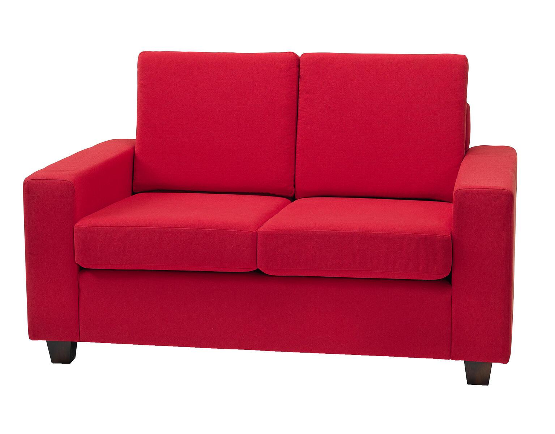 rød sofa Thor sofa 2 pers. rød   Lekolar Danmark rød sofa