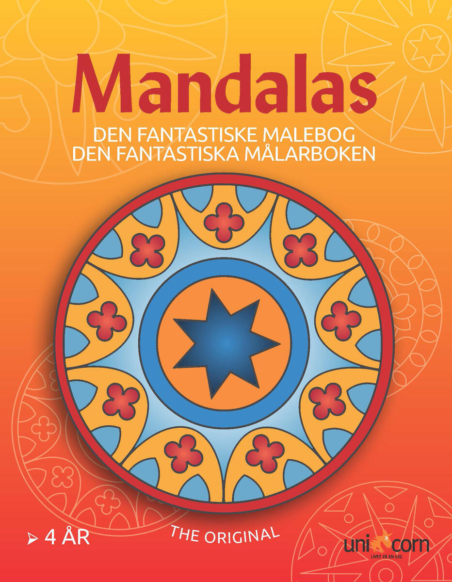 Sidste nye Mandalas malebog 4 år - Lekolar Danmark PN-07